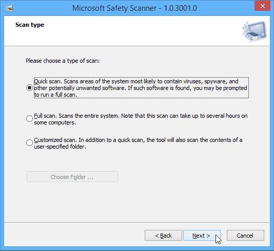 Safety-Scanner von Microsoft