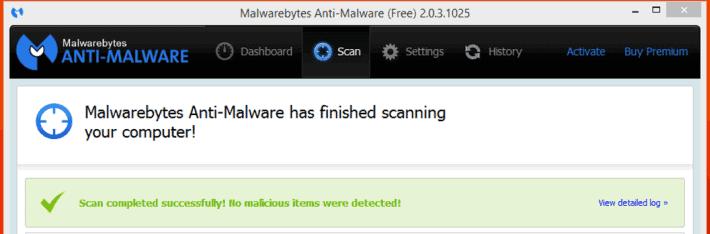 Das Tool Malwarebyte Anti-Malware ist ein super Zweit-Scanner