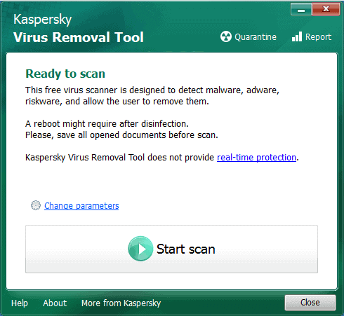 Kaspersky Removal Tool 2015
