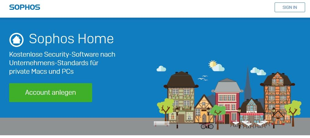 Gratis-Schutz Sophos Home