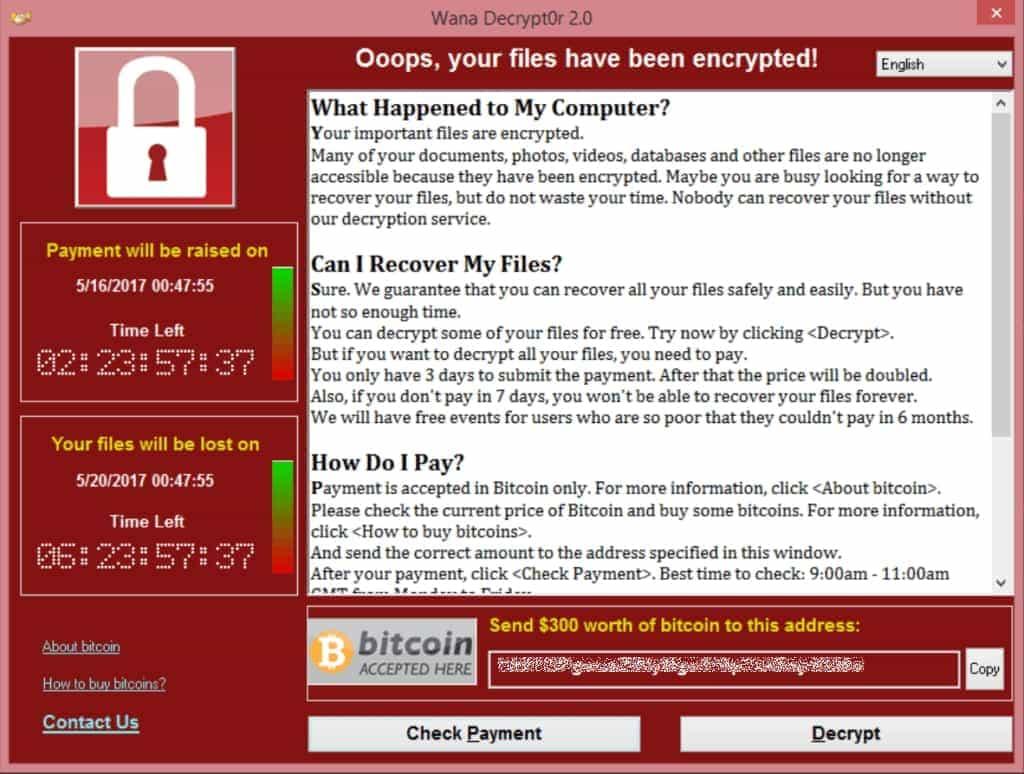 Wanna Cry überfällt PCs und verschlüsselt Daten