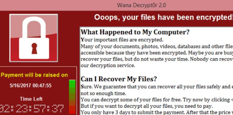 WannaCry: Tipps zur Crypto-Attacke
