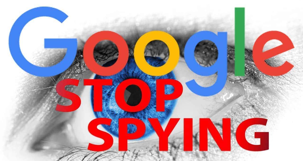 Google Spionage eindämmen