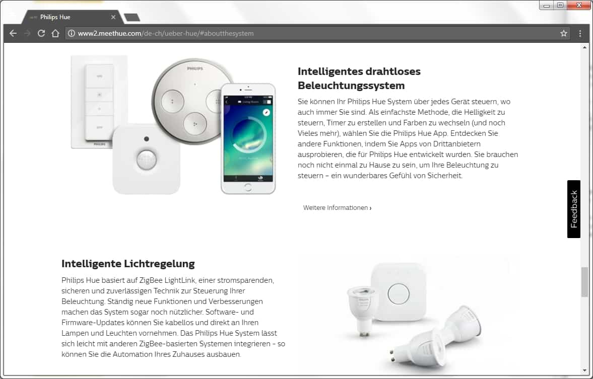 Philips Hue Systemteile