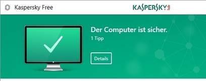 Kaspersky Free – PC-Gratis-Schutz