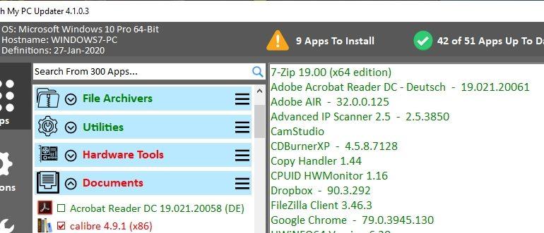 Software-Updates für mehr Sicherheit